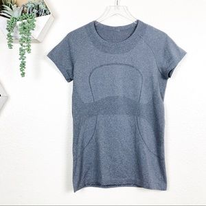 Lululemon Gray swiftly short sleeve tee shirt